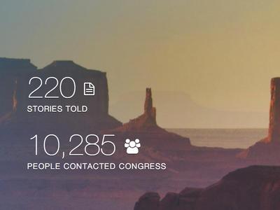 Hero Statistics web app product immigration fwd.us data