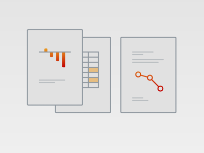 Risk Illustration marketing enterprise sirono reports line art vector branding business