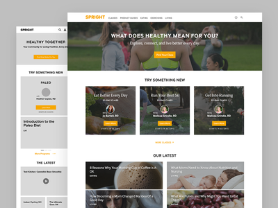 Spright Homepage
