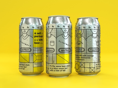 A studio doesnt brew beer isnot a good agency. illustration lable can brewing beer rendering shaders lighting hdri cgi c4d motiongraphics motiondesign
