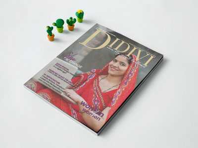 Magazine Design - Dividi website branding vector typography web design ngo magazine cover magazine design graphic design