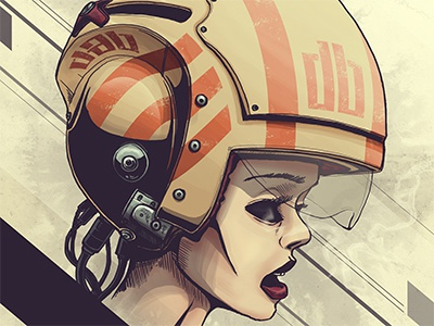 Helmet Trap illustration digital illustration poster design