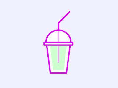Cool Me Down! illustration icon slush ice