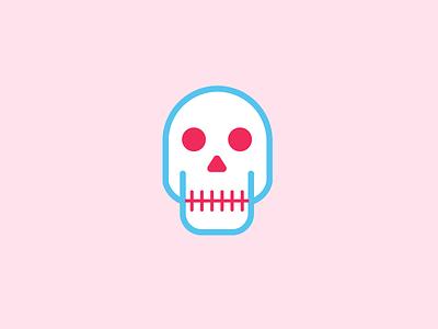 Friday Party Skull skull illustration icon