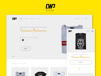 CauseWePlay responsive refonte web design sketch 3 sketch3 streetwear minimalist wordpress website e-commerce ecommerce