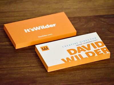 Business Cards FINAL print card branding orange