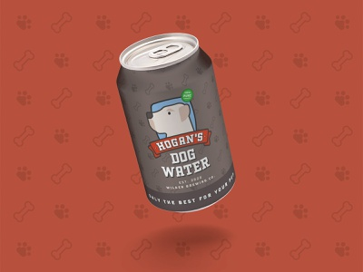 Hogan's Dog Water water beverage packaging beverage pet weeklywarmup