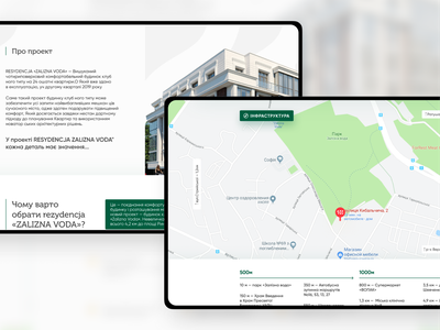 🏠Real Estate map тильда ux ui website rent map house real icon business landing dribbble screen web design cards