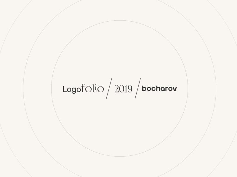 Logofolio 2019 . LOGOS . Minimal Logos