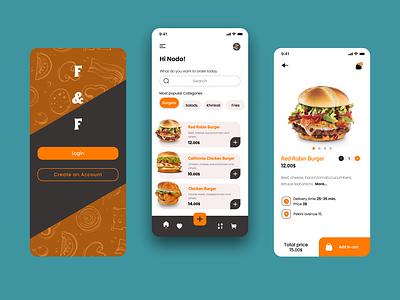 F & F uiuxdesigner food dribbble uxdesigner uiuxdesign uiux uidesigner design web ux ui