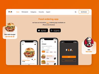 Food ordering app order uxdesigner uiuxdesigner uiuxdesign uiux uidesigner web ux ui design