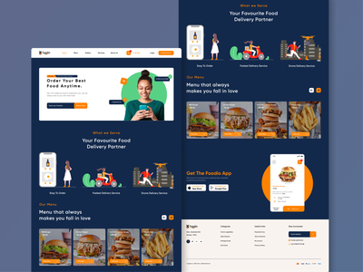 Foodio illustration burger food app food uxdesigner uiux uiuxdesigner uiuxdesign uidesigner ux ui design