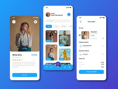 Shopify preview checkout colors dribbble e-commerceapp iphone app dress clothshop brands clothes onlineshop e-commerce uiux ux uiuxdesigner uiuxdesign uidesigner ui design