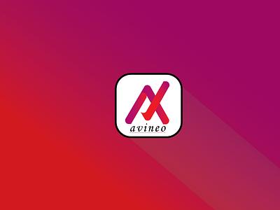 avineo 31 01 modern logo minimal flat @design branding logo