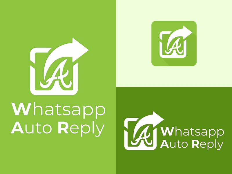 Logo Concept of whatsapp Auto Reply