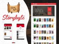 Story byte web UI and App UI