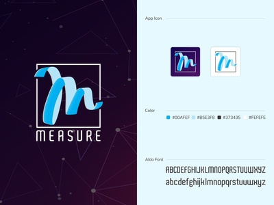 Easy Distance Measure AR Logo | AR | Logo | App Icon