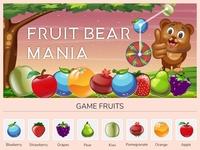 Fruit Bear Mania Game Fruits |  Fruits illustration