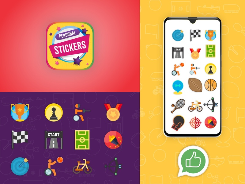 Personal Stickers Maker and Collection Android app