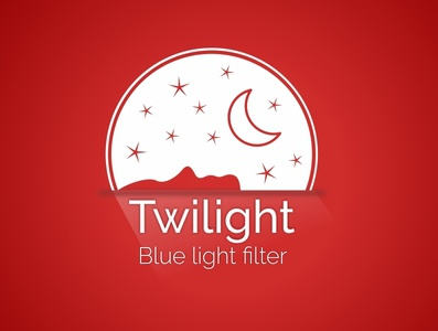Twilight Blue Light Filter App Icon