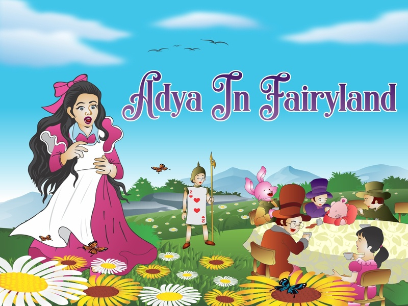 Story of Adya in fairyland