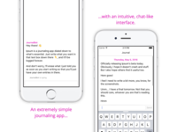 Ipsum for iPhone — Chat with your Journal