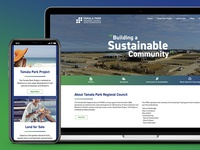 Tamala Park Regional Council Website Design