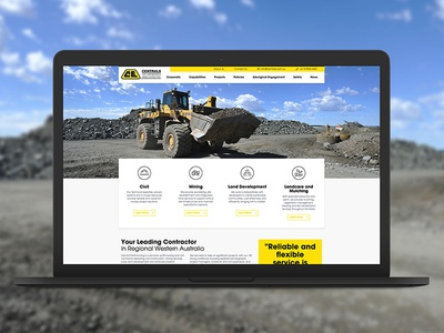Centrals earthworks centrals website design market creations