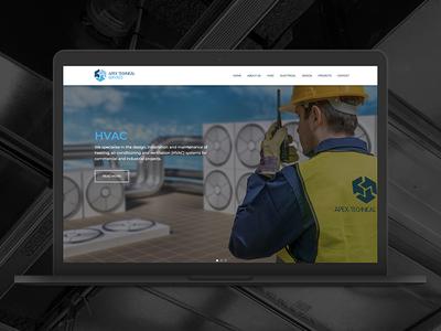 Apex Technical Services Website services technical apex website design market creations
