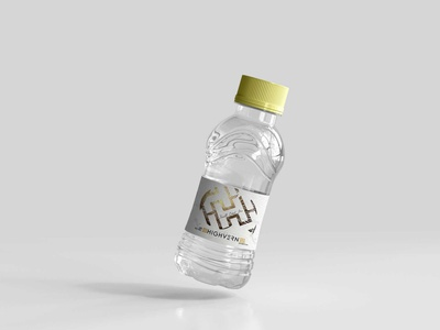 Premium Mineral Water Bottle Psd Mockup water mockup psd bottle mineral premium