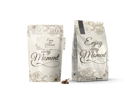 Enjoy the Moment Stand Packet Mockup mockup packet stand moment the enjoy