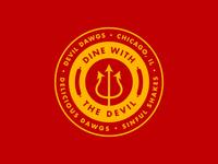 Devil Dawgs Badge
