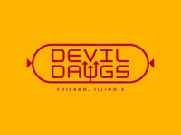 Devil Dawgs Type Lockup