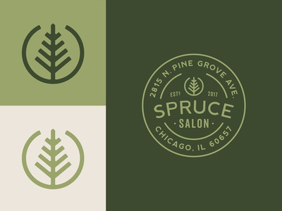 Spruce Salon Final Icon & Badge