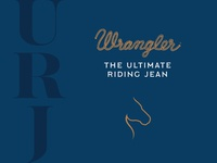 Wrangler Ultimate Riding Jean Logo