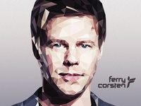 Ferry Corsten Polygon Art