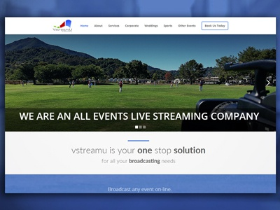 Website for event streaming company event streaming events cricket sports streaming weddings streaming hd