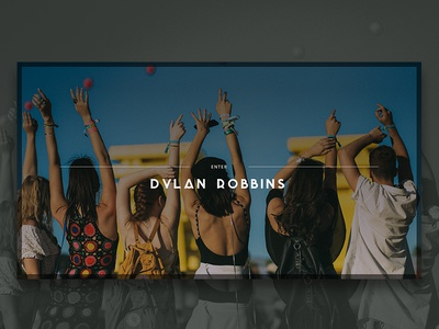 Lifestyle & Fashion Photographer Website