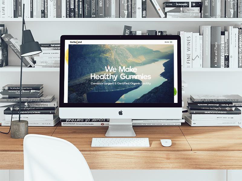 Multi Vitamin Company Concept Website product page e-commerce gummies ecommerce multi vitamin concept website vitamin