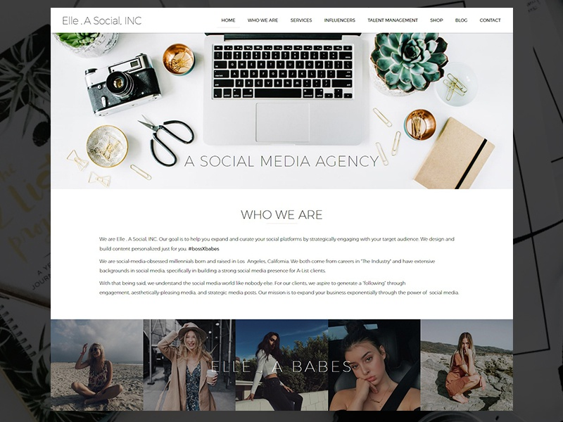 Social Media Agency Website by Hamza Ishaq | Dribbble | Dribbble