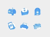 Checkout Fulfillment Icons