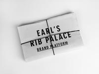 Earl's Brand Book