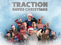 2016 Traction Christmas Card — 3D Poster