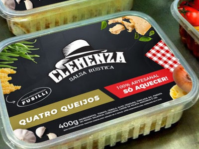 Clemenza Sauce Packaging