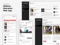 Webinar Application