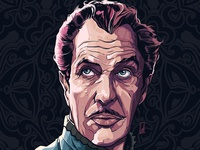 Vincent Price Illustration