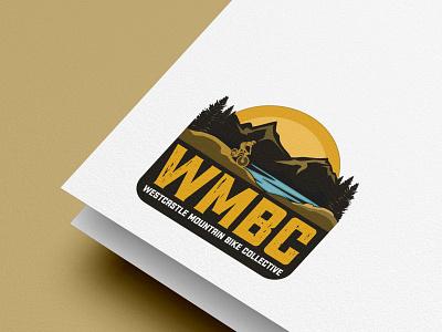 Mountain Bike Logo vintage retro bike adventure mountain bike
