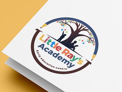 Little Ray's Academy academy foundation child tree logo