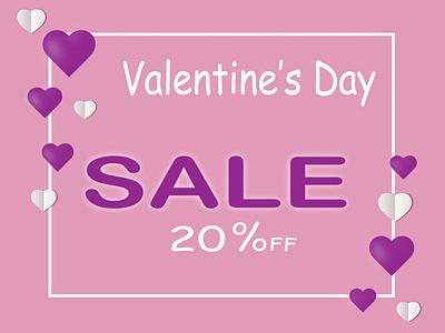 Happy Valentine's Day stickers banner design design cute lovely valentine day vector