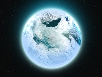 One Layer Style - Ice Age Sphere